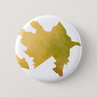 Azerbaijan 2 Inch Round Button