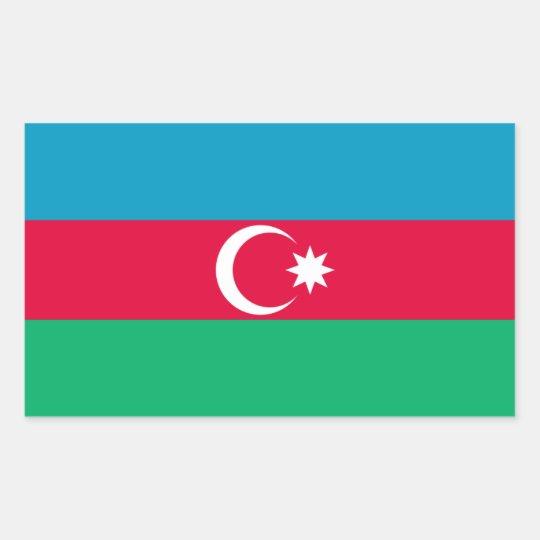 Azerbaijan/Azerbaijani Flag Sticker