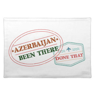 Azerbaijan Been There Done That Placemat