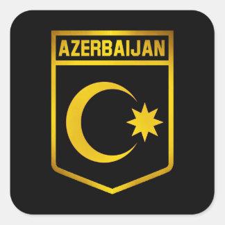 Azerbaijan Emblem Square Sticker