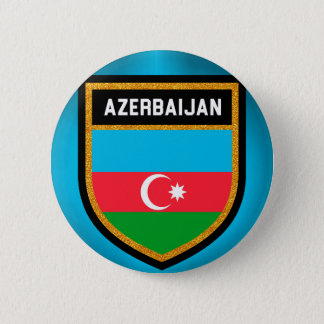 Azerbaijan Flag 2 Inch Round Button