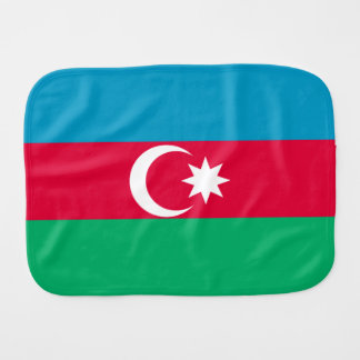 Azerbaijan Flag Burp Cloth