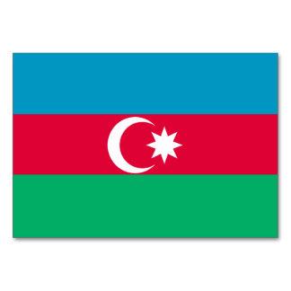 Azerbaijan Flag Card