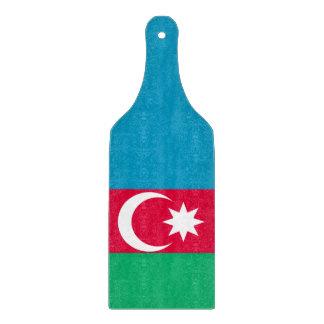 Azerbaijan Flag Cutting Board