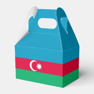 Azerbaijan Flag Favor Box