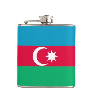 Azerbaijan Flag Hip Flask