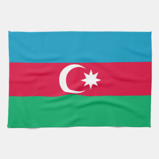 Azerbaijan Flag Kitchen Towel