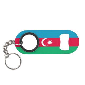 Azerbaijan Flag Mini Bottle Opener