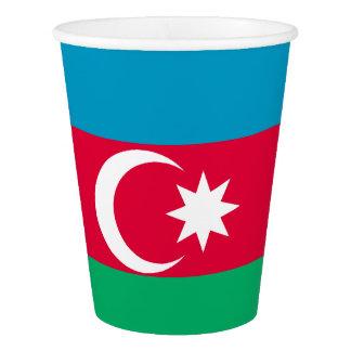 Azerbaijan Flag Paper Cup