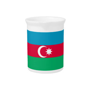 Azerbaijan Flag Pitcher