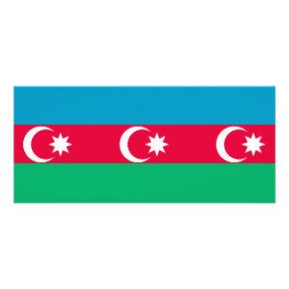 Azerbaijan Flag Rack Card
