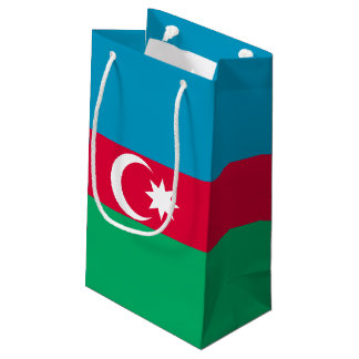 Azerbaijan Flag Small Gift Bag