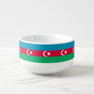 Azerbaijan Flag Soup Mug