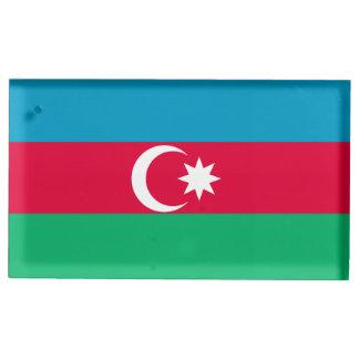 Azerbaijan Flag Table Number Holder