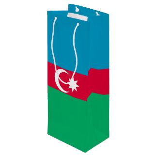 Azerbaijan Flag Wine Gift Bag