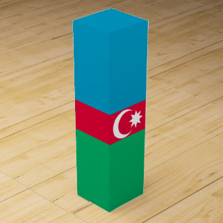 Azerbaijan Flag Wine Gift Box