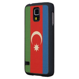 Azerbaijan Flag Carved® Maple Galaxy S5 Case