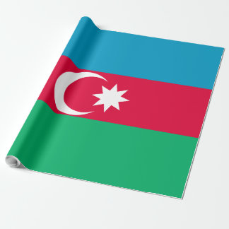 Azerbaijan Flag Wrapping Paper