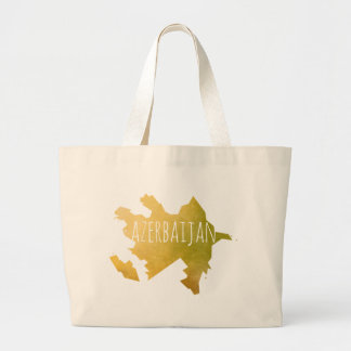 Azerbaijan Large Tote Bag