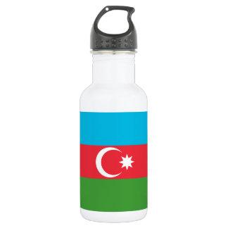 Azerbaijan National World Flag 532 Ml Water Bottle