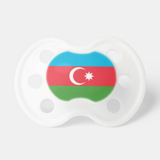 Azerbaijan National World Flag Pacifier