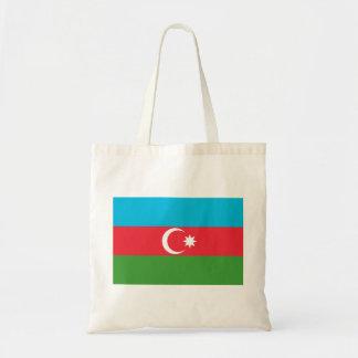 Azerbaijan National World Flag Tote Bag
