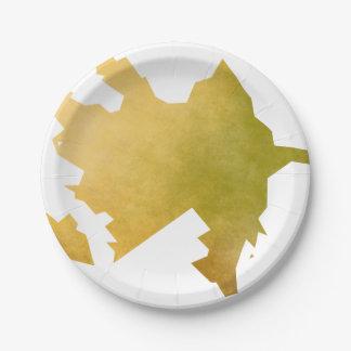 Azerbaijan Paper Plate
