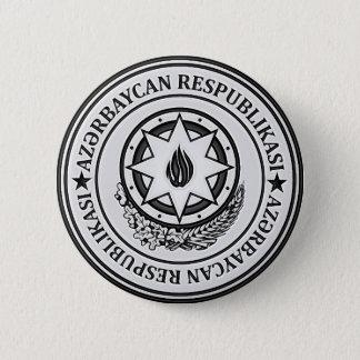 Azerbaijan  Round Emblem 2 Inch Round Button