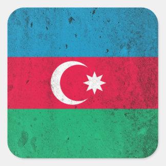 Azerbaijan Square Sticker