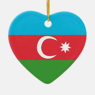 Azerbaijao Ceramic Heart Ornament