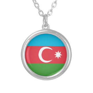 Azerbaijao Silver Plated Necklace