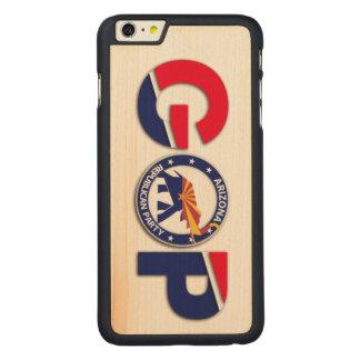 AZGOP iPhone 6/6s Plus Maple Wood Case