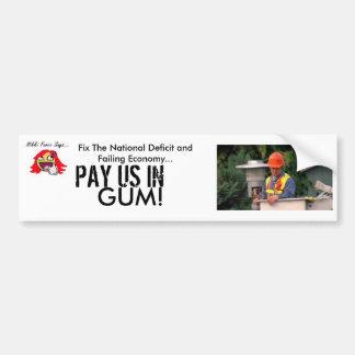 aznguy, nikkiawesomefarce, Fix The National Def... Bumper Sticker