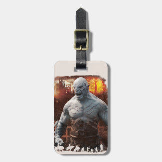 Azog & Orcs Silhouette Graphic Bag Tag