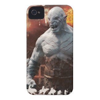 Azog & Orcs Silhouette Graphic iPhone 4 Case-Mate Case