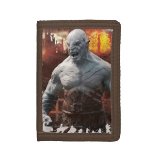 Azog & Orcs Silhouette Graphic Trifold Wallets