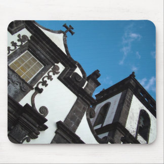 Azorean architecture mouse pad