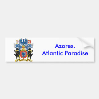 Azores* Atlantic Paradise Bumper Sticker