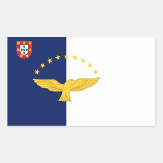 Azores Custom Azores Flag Sticker