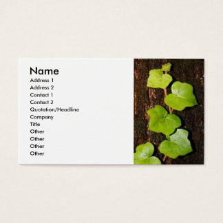 Azores endemic hedera business card
