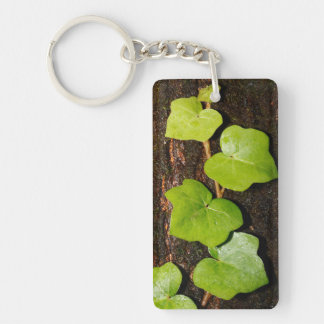 Azores endemic hedera Double-Sided rectangular acrylic keychain
