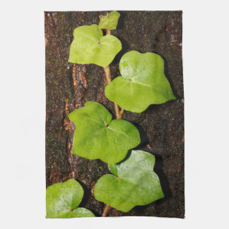 Azores endemic hedera kitchen towel