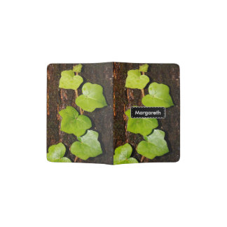 Azores endemic hedera passport holder
