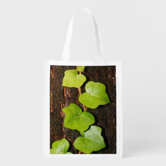 Azores endemic hedera reusable grocery bag