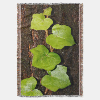 Azores endemic hedera throw blanket