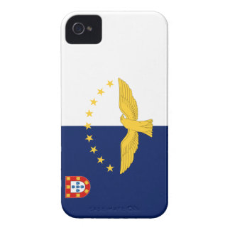 Azores Flag iPhone 4 Covers