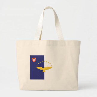 Azores Flag Large Tote Bag