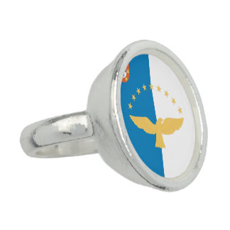 Azores Flag Ring