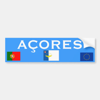 Azores Islands* Bumper Sticker