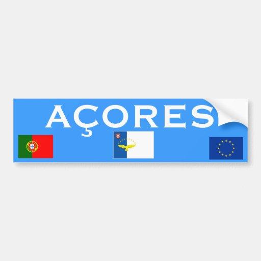 Azores Islands* Bumper Sticker